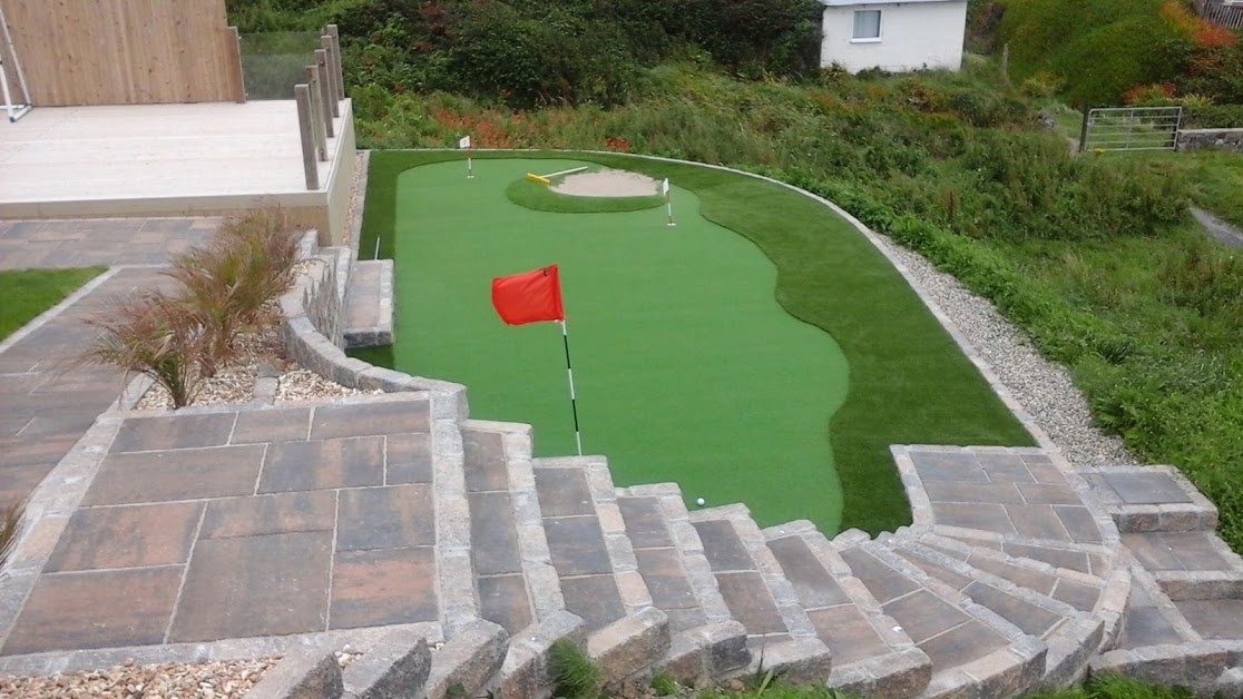 Artificial Grass Putting Green in Northern Ireland