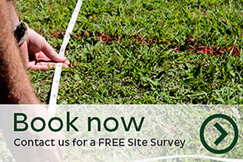 Artificial Grass Company Book Site Survey Belfast Northern Ireland