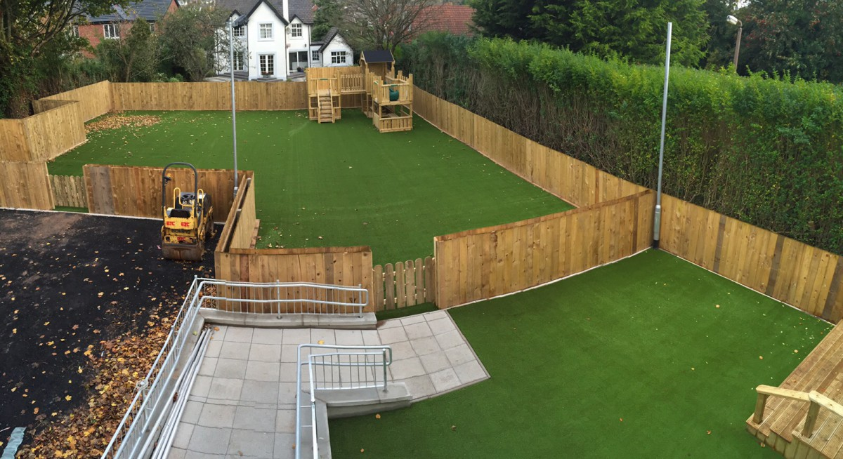 Artificial Grass Nursery School Ireland 5