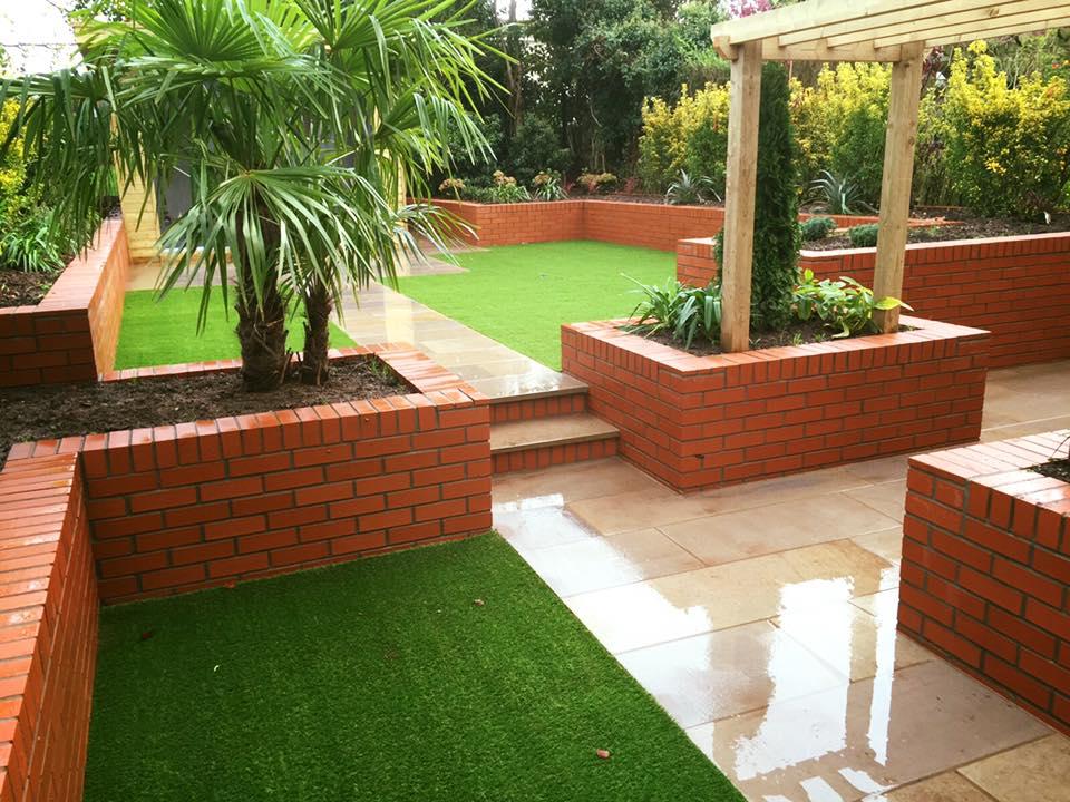 Artificial grass company designer gardens belfast for Garden design northern ireland