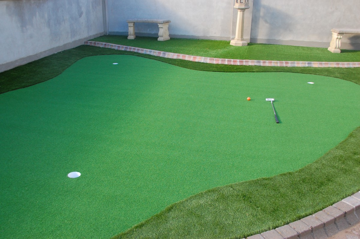 Artificial Grass Putting Green in Donaghadee