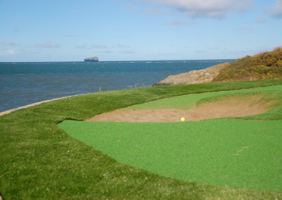 Putting Green in Co Down, Northern Ireland
