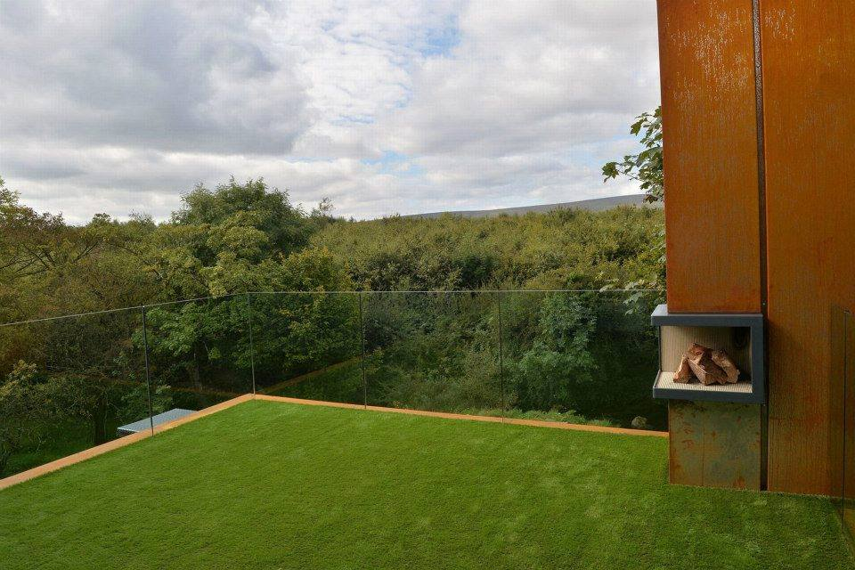 Artificial grass covered balcony in Co Londonderry