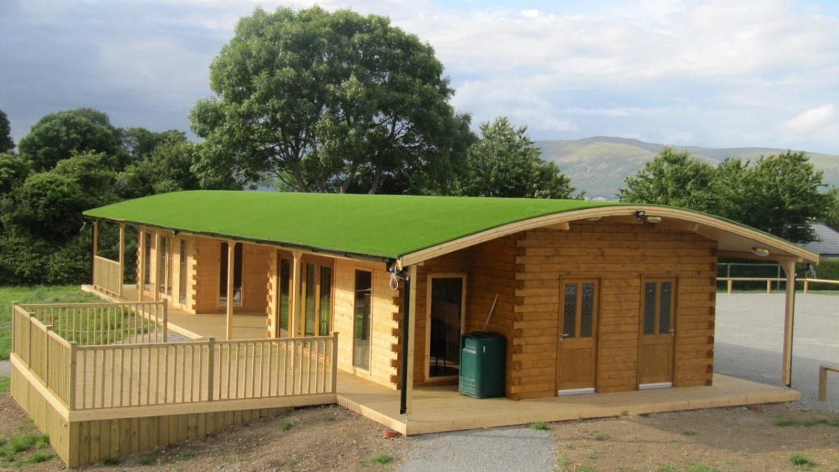 Log Cabin Carlingford Artificial Grass Company