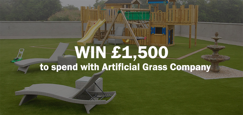 Win £1,500 of Artificial Grass