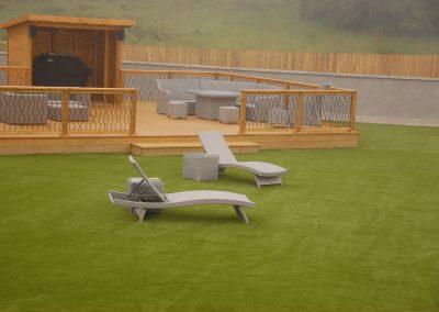 Kildare Artificial Grass, Residential Garden, Helen's Bay