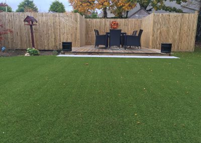 Waterford Artificial Grass, Residential Back Garden, Groomsport