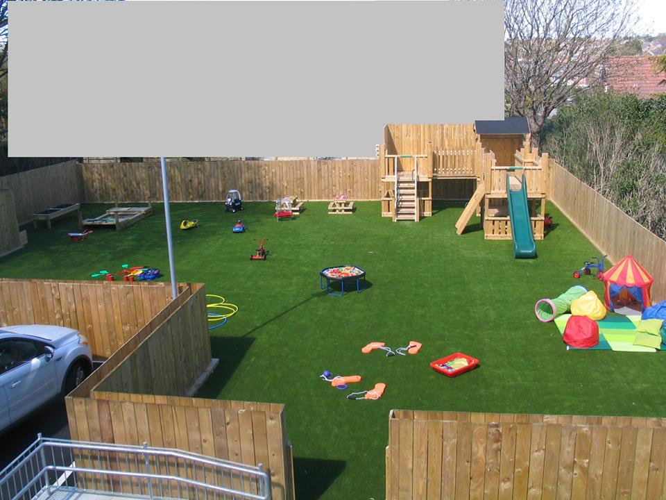 Outdoor Play Area, iKids Nursery, Newtownards