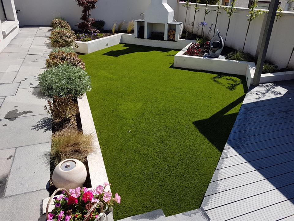 Belfast Garden Transformation • Artificial Grass Company