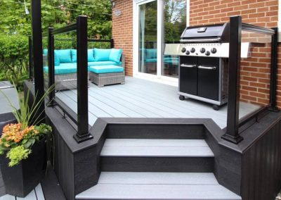 Dragon series decking project