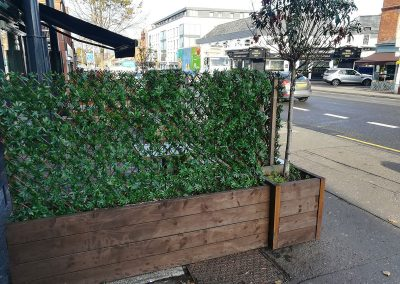 Commercial Artificial Hedging