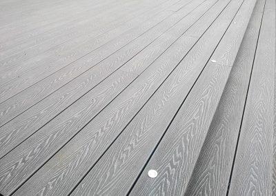 Woodgrain Silvery Grey Composite